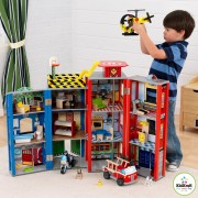 Hrací set KidKraft EVERYDAY HEROES WOODEN PLAY SET